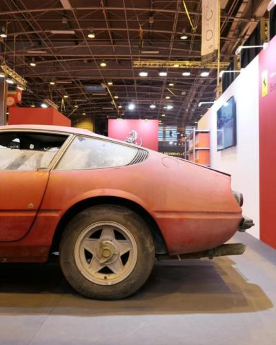 Ferrari 365 GTB/4 Daytona GTB 4 alloy aluminum at retromobile 2018 ferrari beverly hills sothebys sotheby's Nico Franck Galiffi road rug cars roadrugcars brothers car voiture auto automobile vintage car super car hyper car